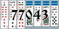Пасьянс №77043