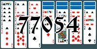 Пасьянс №77054