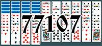 Пасьянс №77107