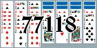 Пасьянс №77118