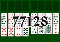 Пасьянс №77128