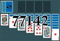 Пасьянс №77142