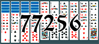 Пасьянс №77256