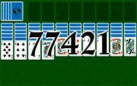 Пасьянс №77421