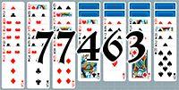 Пасьянс №77463