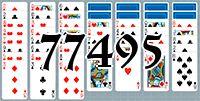 Пасьянс №77495