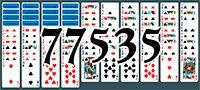 Пасьянс №77535
