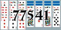 Пасьянс №77541