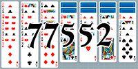 Пасьянс №77552