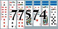 Пасьянс №77574