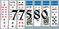 Пасьянс №77580