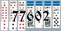 Пасьянс №77602