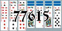 Пасьянс №77615