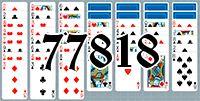 Пасьянс №77818