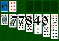 Пасьянс №77840