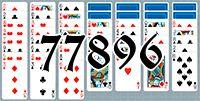 Пасьянс №77896