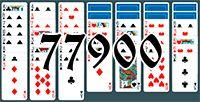 Пасьянс №77900