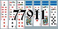 Пасьянс №77911