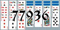 Пасьянс №77936