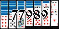 Пасьянс №77989