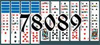 Пасьянс №78089