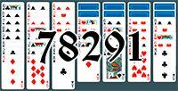 Пасьянс №78291
