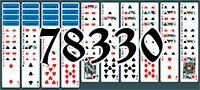 Пасьянс №78330
