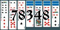 Пасьянс №78348