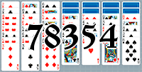 Пасьянс №78354