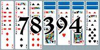 Пасьянс №78394