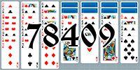 Пасьянс №78409