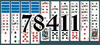 Пасьянс №78411