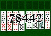 Пасьянс №78442