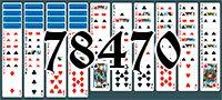 Пасьянс №78470