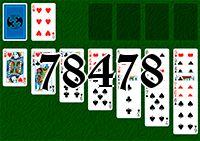 Пасьянс №78478