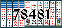 Пасьянс №78481