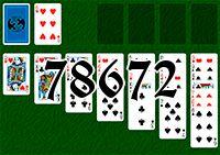 Пасьянс №78672
