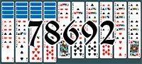 Пасьянс №78692