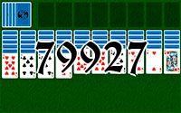 Пасьянс №79927