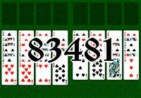 Пасьянс №83481