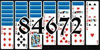 Пасьянс №84672