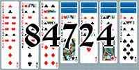 Пасьянс №84724