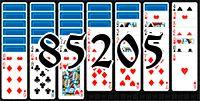 Пасьянс №85205