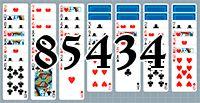 Пасьянс №85434