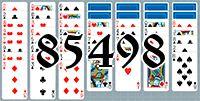 Пасьянс №85498