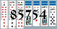 Пасьянс №85754