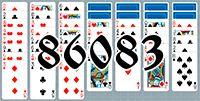 Пасьянс №86083