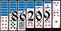 Пасьянс №86209