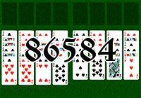 Пасьянс №86584