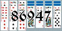 Пасьянс №86947